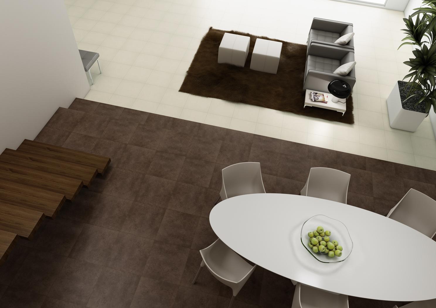 Ambiente com pavimentos e revestimentos cerâmicos | Acaste