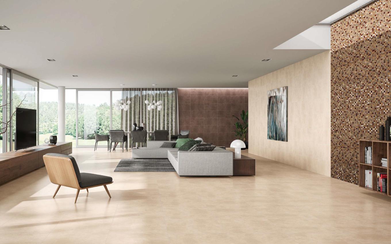 Ambiente com pavimentos e revestimentos cerâmicos | Argia