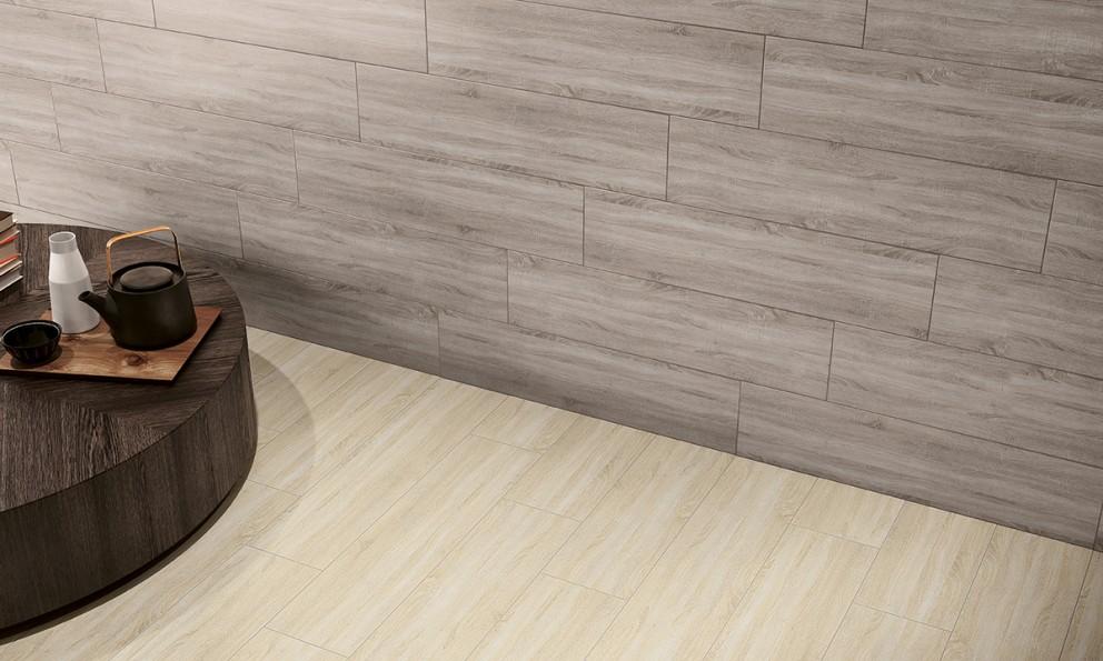 Ambiente com pavimentos e revestimentos cerâmicos | Amur
