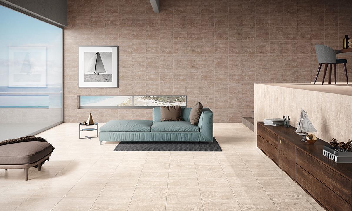 Ambiente com pavimentos e revestimentos cerâmicos | Annecy