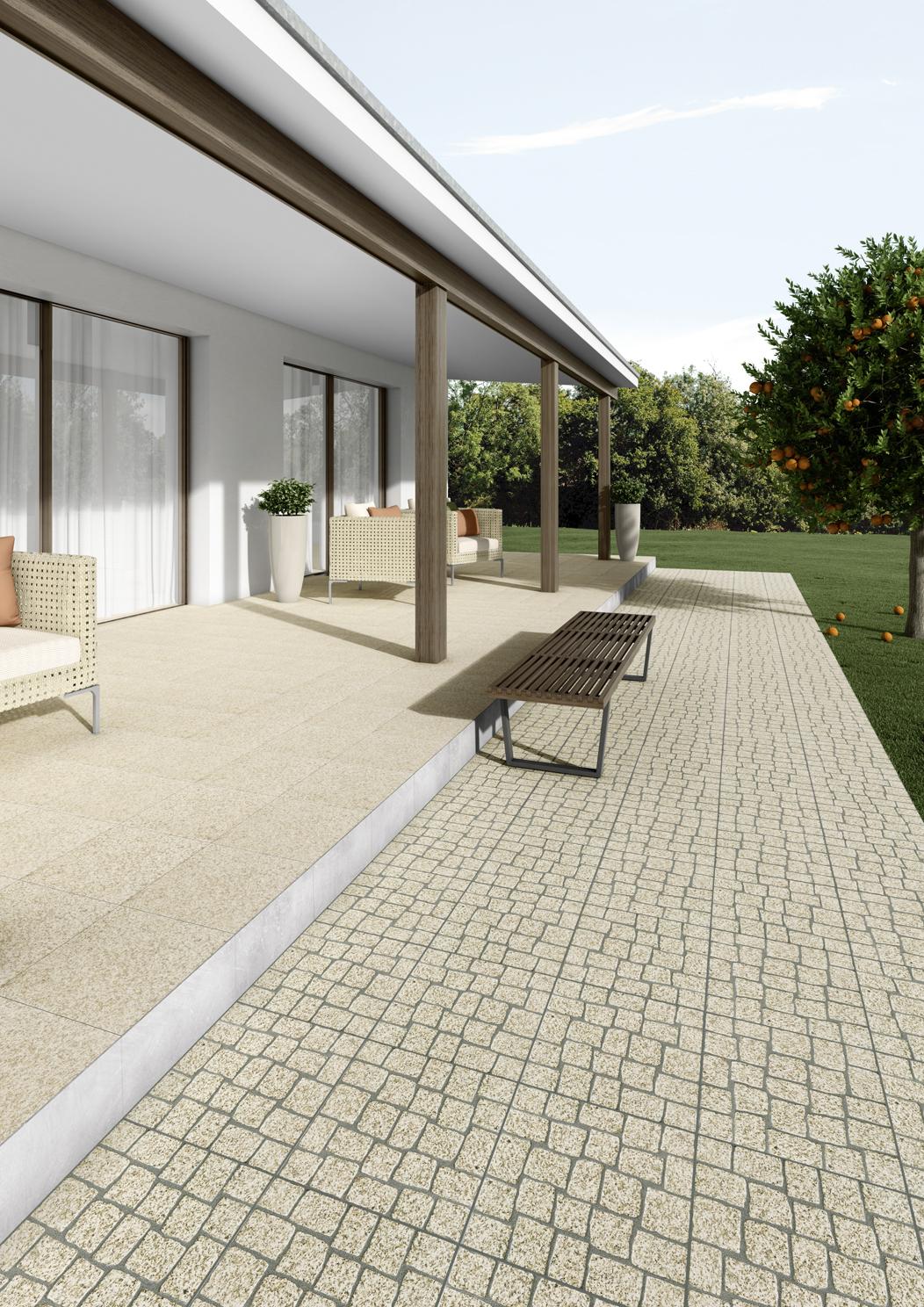 Ambiente com pavimentos e revestimentos cerâmicos | Douro Calçada