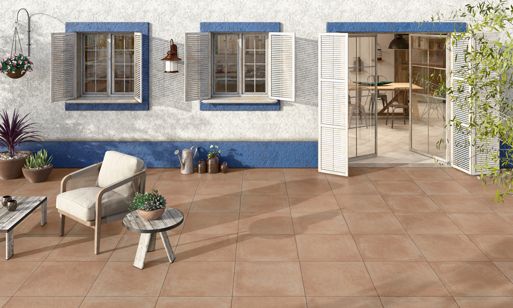 Ambiente com pavimentos e revestimentos cerâmicos | Isle