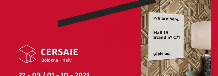 Cliper marca presença na Cersaie 2021